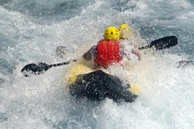 U.S. National Whitewater Center Rafting