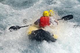 U.S. National Whitewater Center Rafting