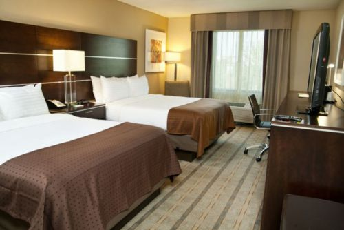 Holiday Inn Charlotte Airport Double Guest Room