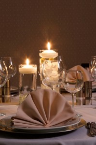 The Earhart Ballroom is perfect for formal dinners or casual receptions.