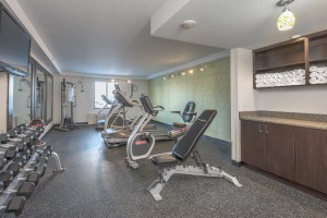 Our fitness center is newly renovated and open 24/7 to our guests